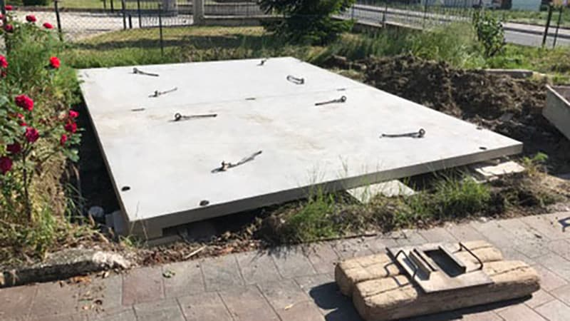 1 - Garage - Montaggio piattaforma