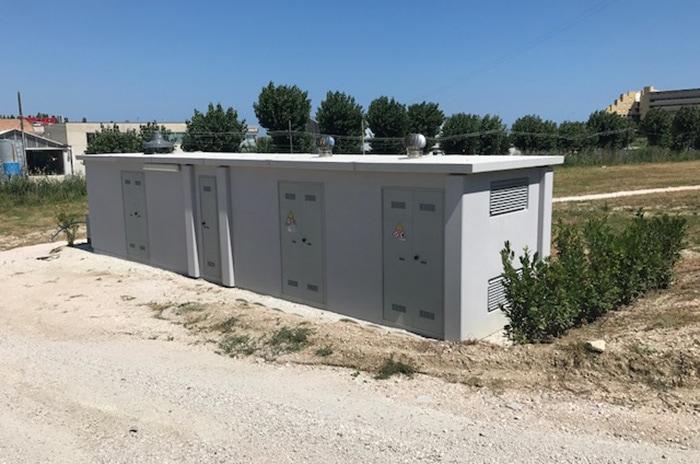 cabina elettrica utenza privata