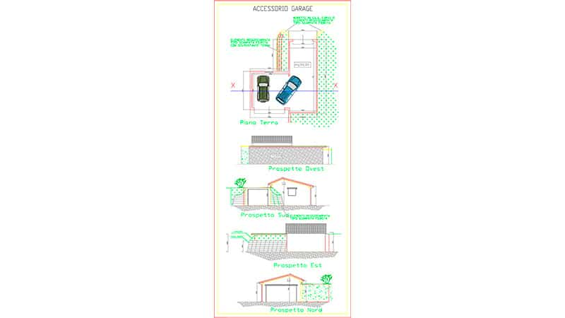 progetto box garage
