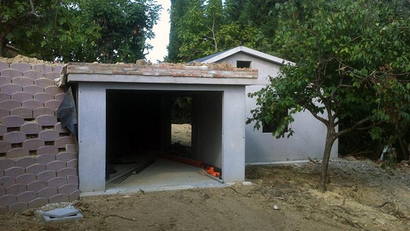 progetto garage