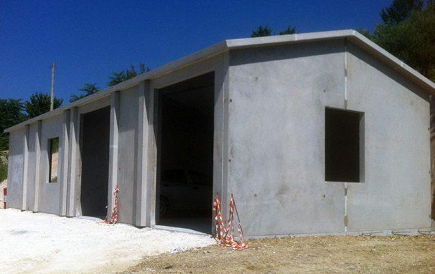 capannone prefabbricato