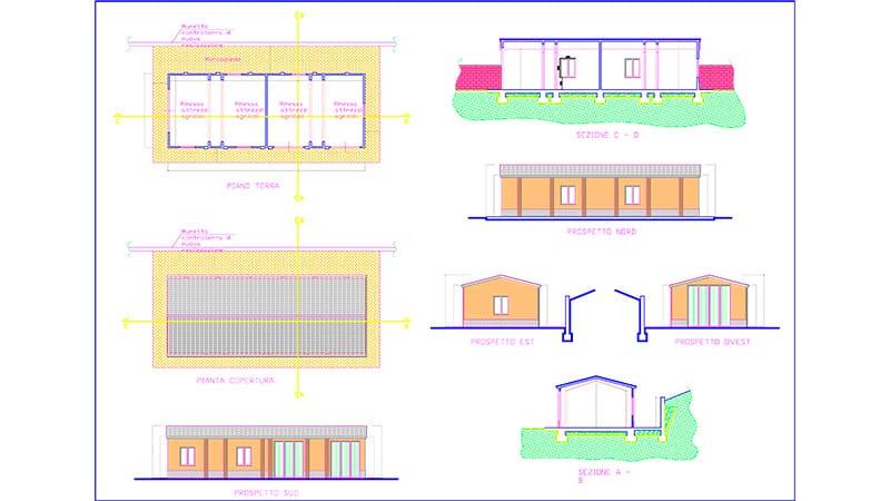 Progetto del garage